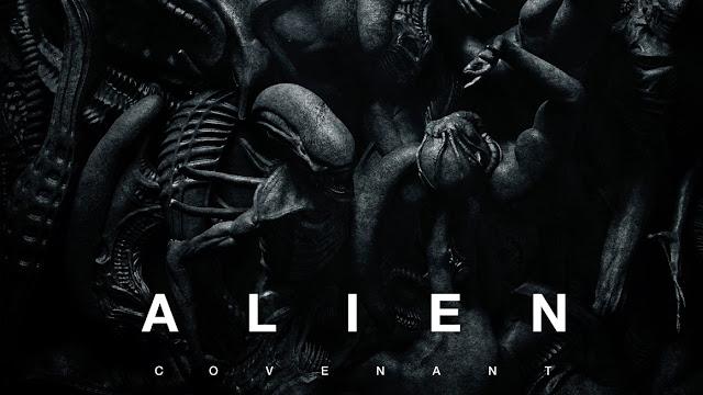 posterul noului film Alien Covenant