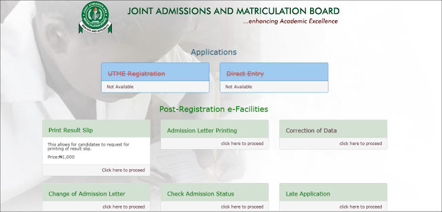 THE NEW JAMB PORTAL - HOW TO USE (with photo guide)