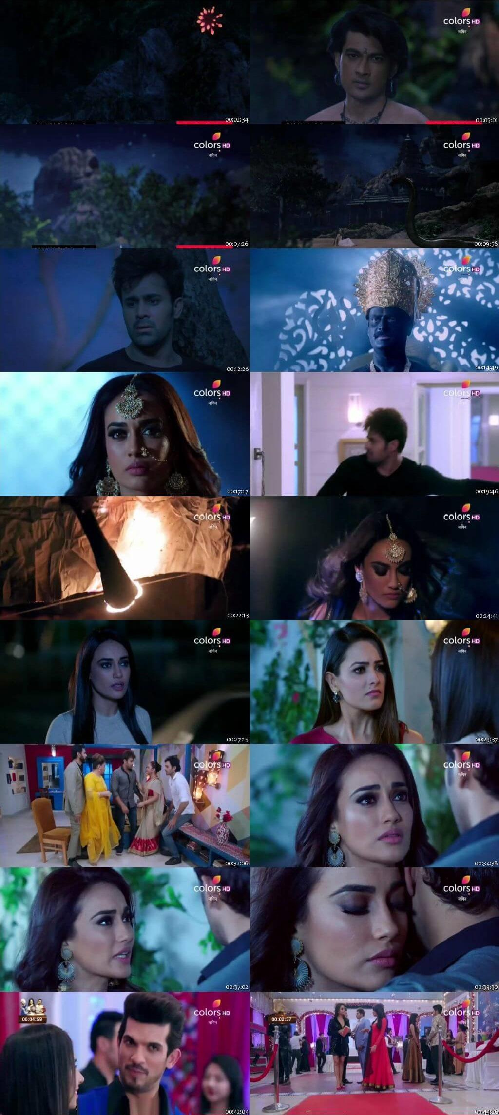 Screenshots Of Hindi Show Naagin Season 3 2019 Episode 99 300MB 480P HD