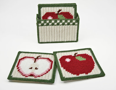 Country Apple Coasters