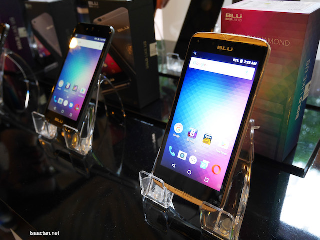 BLU has a wide range of models, from entry level to flagship models.