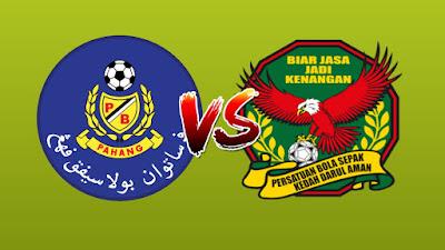 Live Streaming Pahang vs Kedah 8 Mac 2019 Liga Super