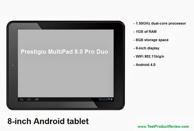 Prestigio MultiPad 8.0 Pro Duo review
