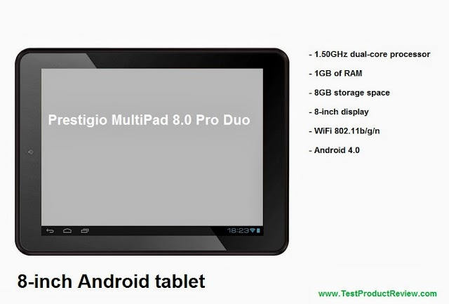 Prestigio MultiPad 8.0 Pro Duo 8-inch Android tablet full specs and video review