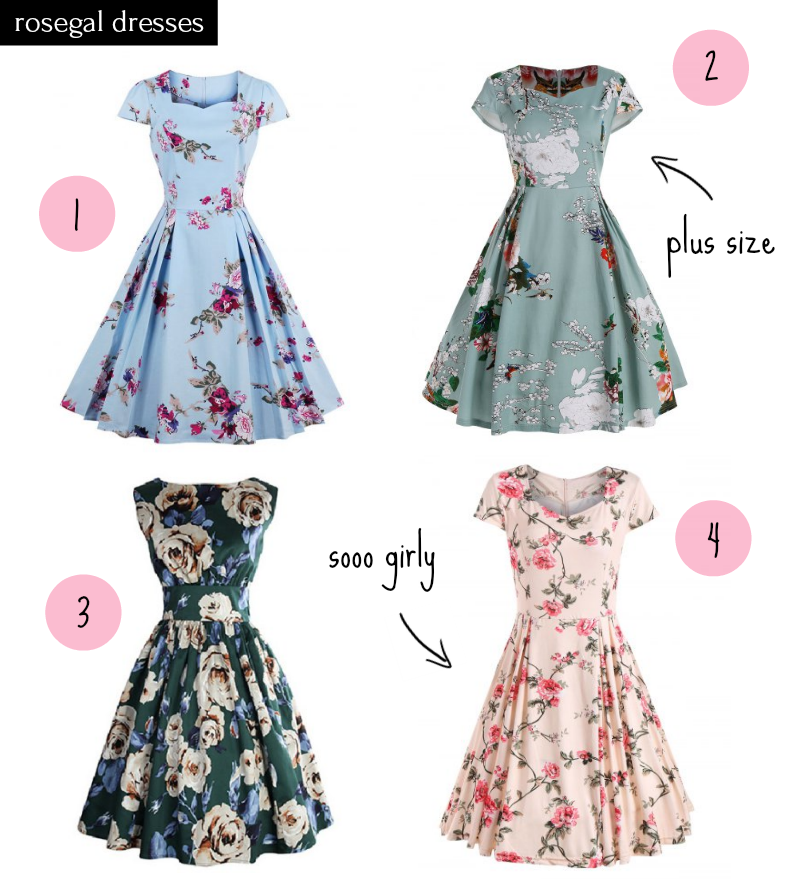 rosegal wishlist casual dresses
