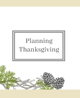 Planning Thanksgiving by Helmig Haus