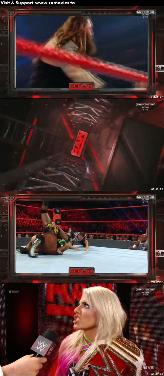 WWE Monday Night Raw 05 June 2017 HDTV 480p 500mb