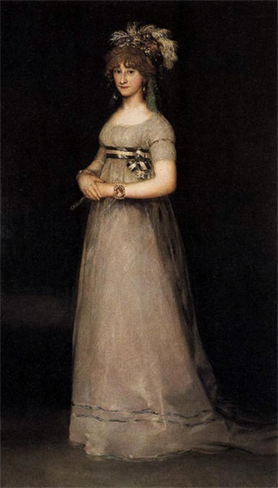 Retrato de Maria Teresa de Chinchon. Galeria Uffizi
