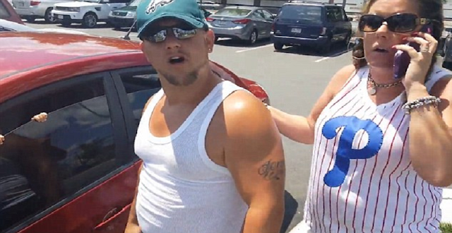 Eagles Fans Rush To Save Baby In Hot Car Until They Notice One Minor Detail