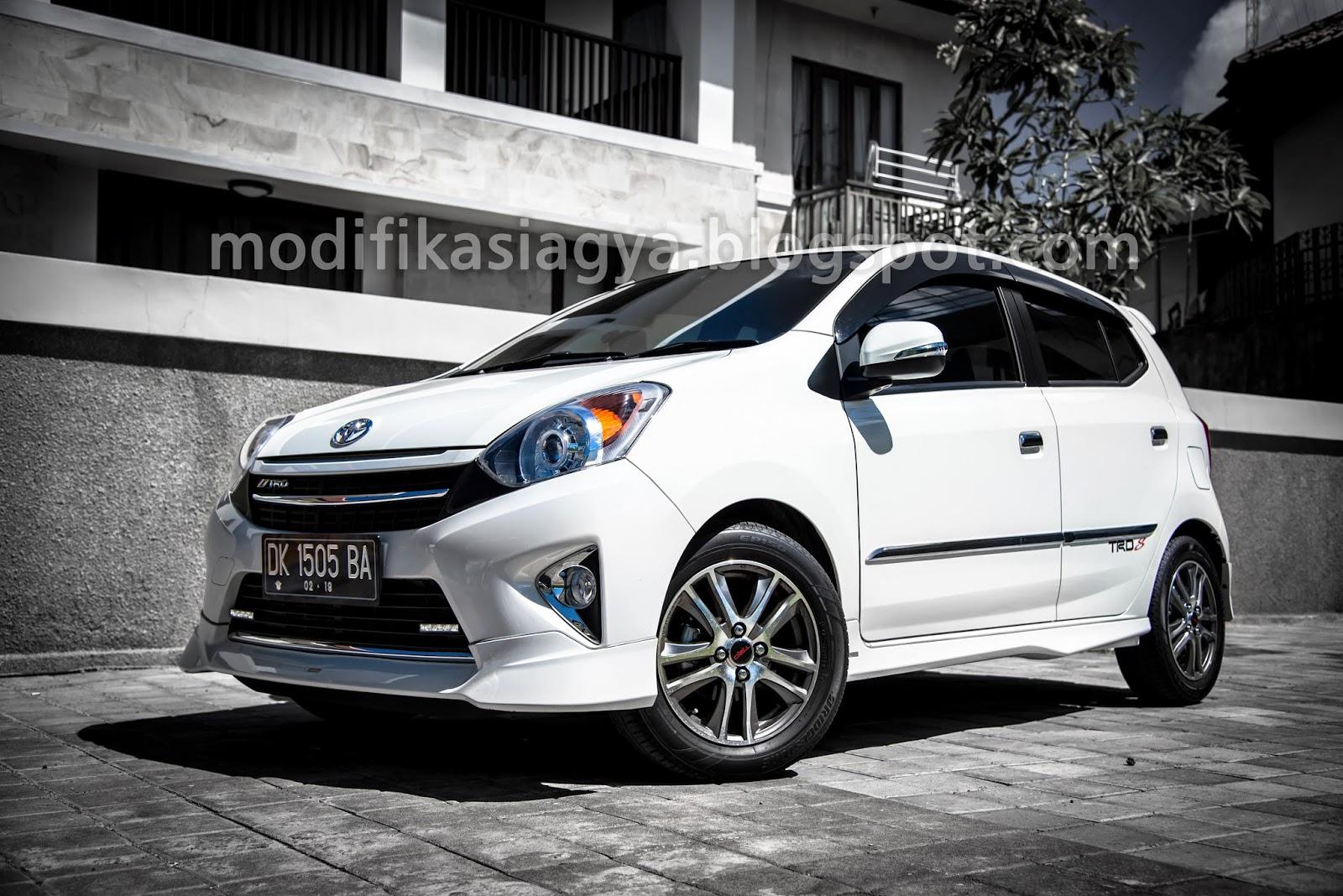 Toyota Yaris Trd Sportivo 2014 New Agya Matic Modifikasi Agya: Ganti Velg Dan Ban