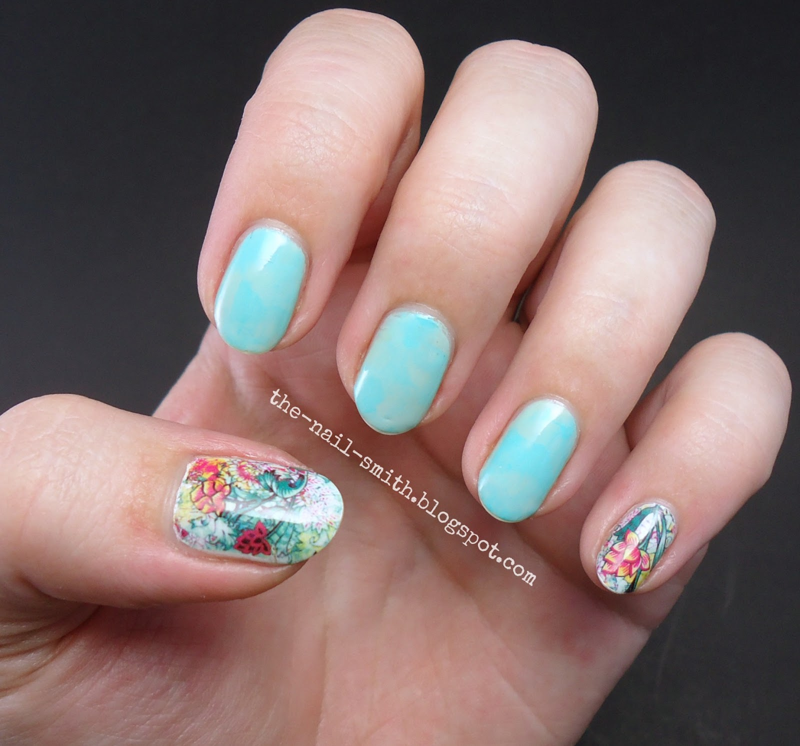 The Nail Smith: Born Pretty Store Review: Funky Floral Water Decals