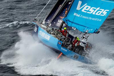 Vestas demate sur la Volvo Ocean Race