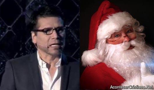 Jesús Adrián Romero y Santa Claus