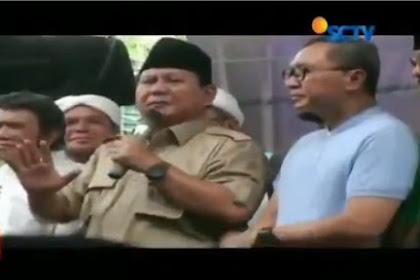 Bukan 4,5 Tahun Tapi Sudah 21 Tahun Difitnah, Prabowo: Saya Sabar Karena Ikuti Cara Rasulullah SAW