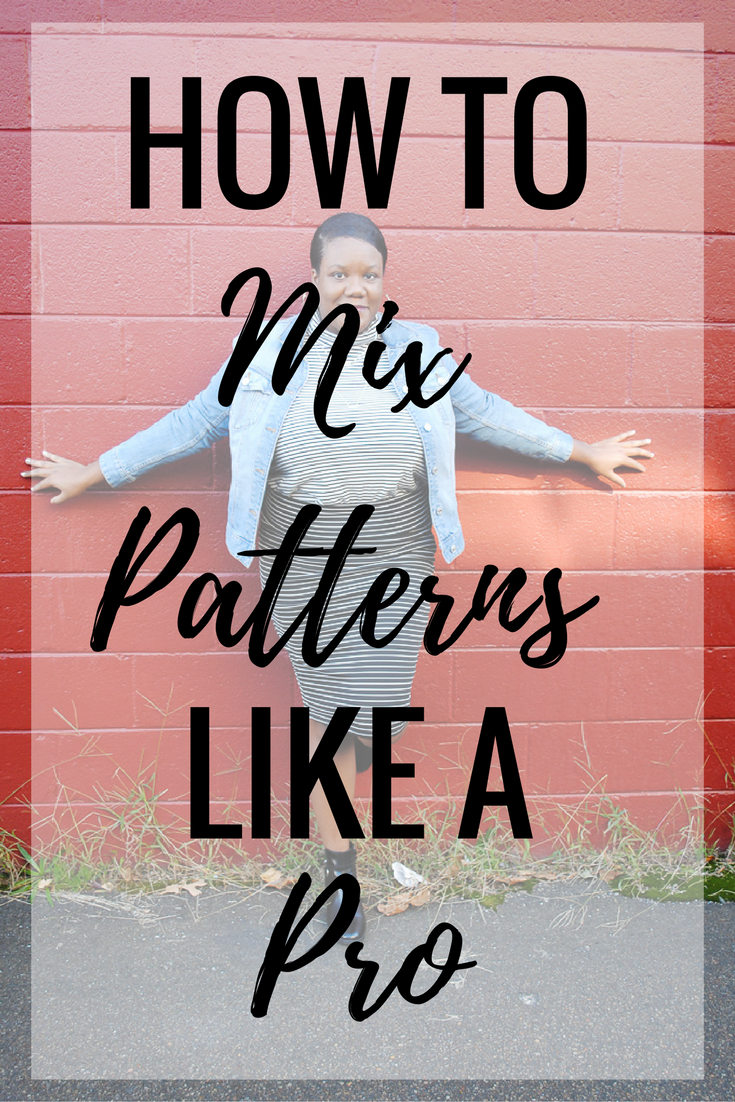 """I love pattern mixing because it's a great way to get more wear out of the items in your wardrobe. Fall is such an amazing time to practice pattern mixing with all the layers we wear. I've been asked a couple times """"How do you know what patterns go together?"""" or """"How can I incorporate more patterns into my wardrobe?"""" There is no definitive answer and most times I stumble over my words trying to find the right thing to say. I took a while to gather my thoughts on pattern mixing and I'm sharing my top tips with you today. Continue reading to see how I mix patterns like a pro!"""