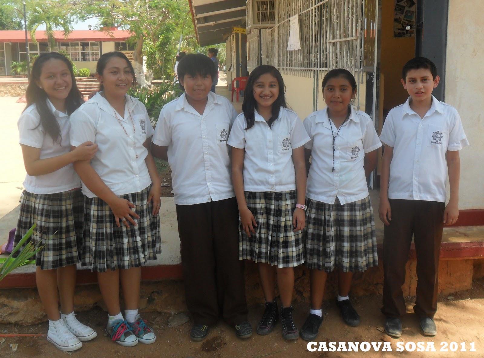 Estudiantes de la ermilo sandoval campos campeche