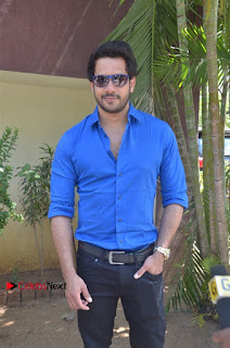 Bharath Chandini Tamilarasan Sanchita Shetty Ennodu Vilayadu Tamil Movie Press Meet Stills  0019.jpg