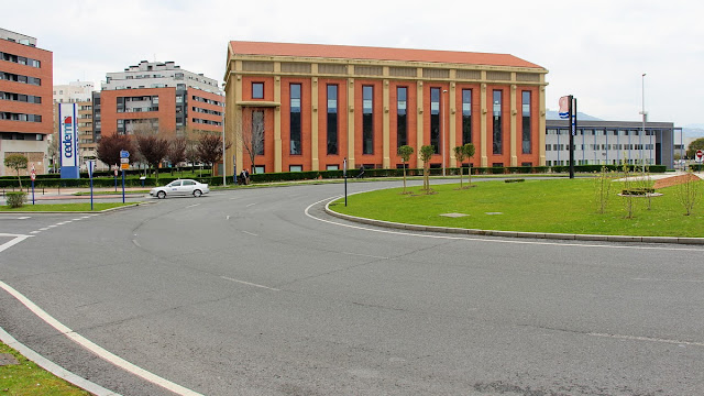 Sede de BIC Bizkaia Ezkerraldea, en el edificio Ilgner de Altos Hornos de Vizcaya