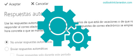 procesamiento automático dentro de Outlook