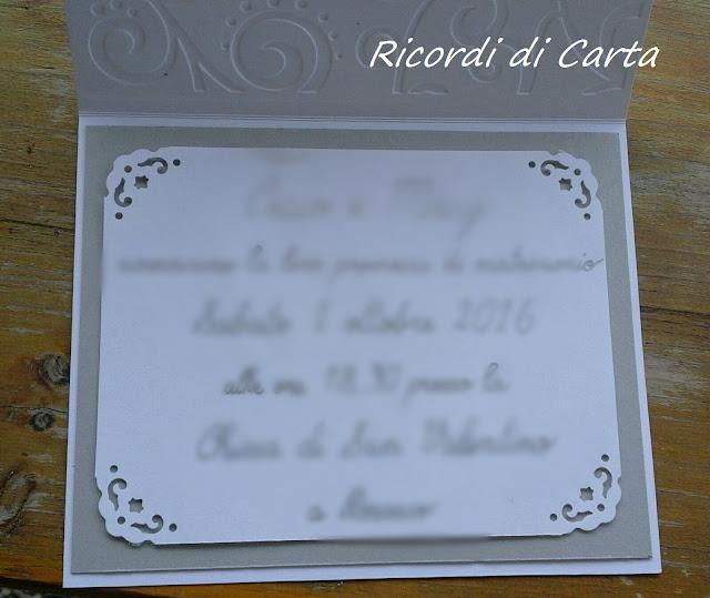 Ricordi di carta : nozze d'argento
