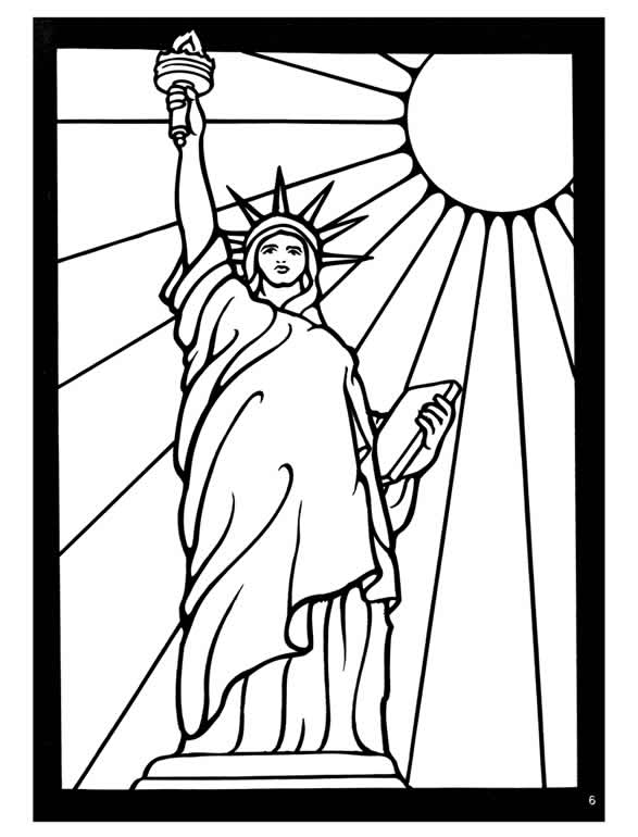 nyc coloring pages - photo#8
