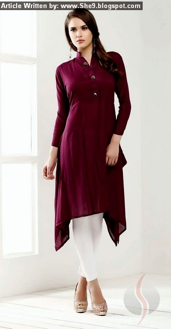 Designs of Indian Long Shirts