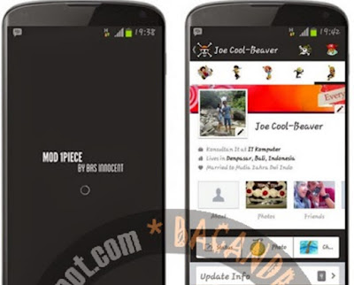 download Aplikasi Facebook Mod Tema Skin One Piece Apk Android