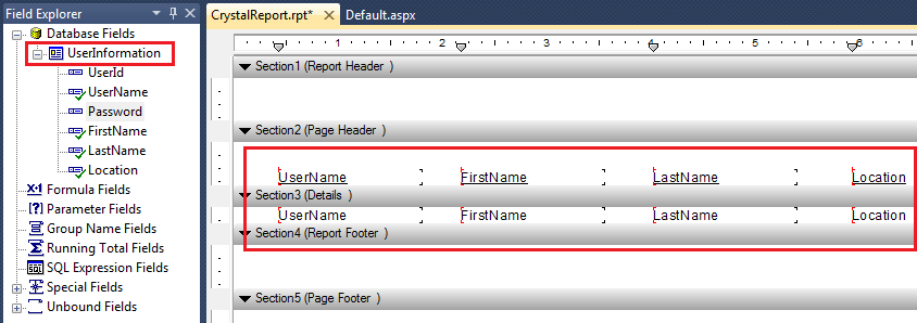 Crystal reports example/sample in asp net - ASP NET,C# NET