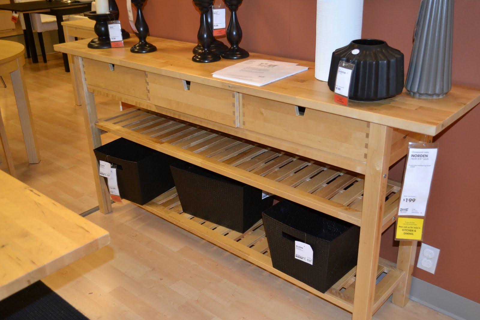 Wood Kitchen Table Ikea