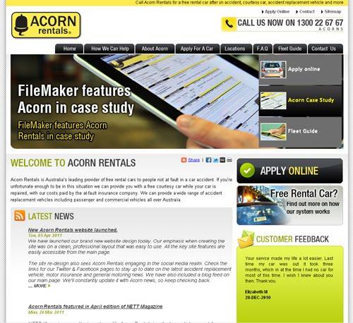 Rental Apartment Websites: Acorn Rentals: New Acorn Rentals Website Launched