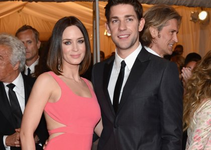 Hollywood Stars: Emily Blunt With Her Husband John ...