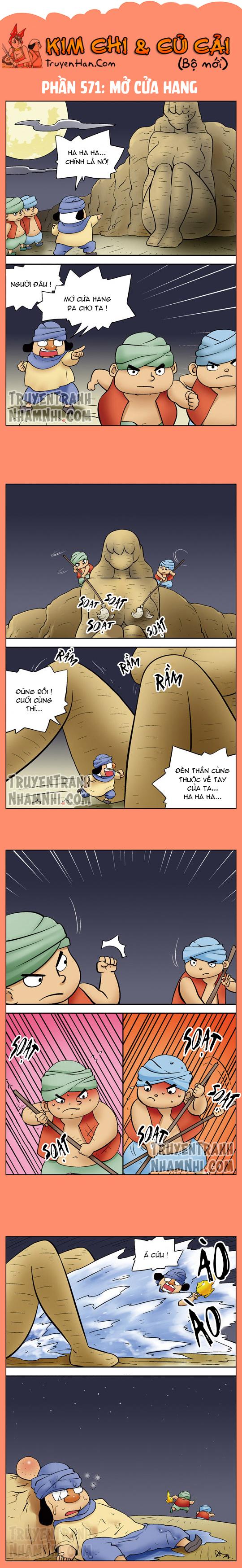 Kim Chi Và Củ Cải phần 571: Mở cửa hang