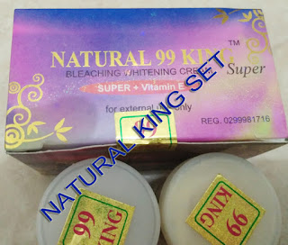 harga grosir cream natural pelangi set