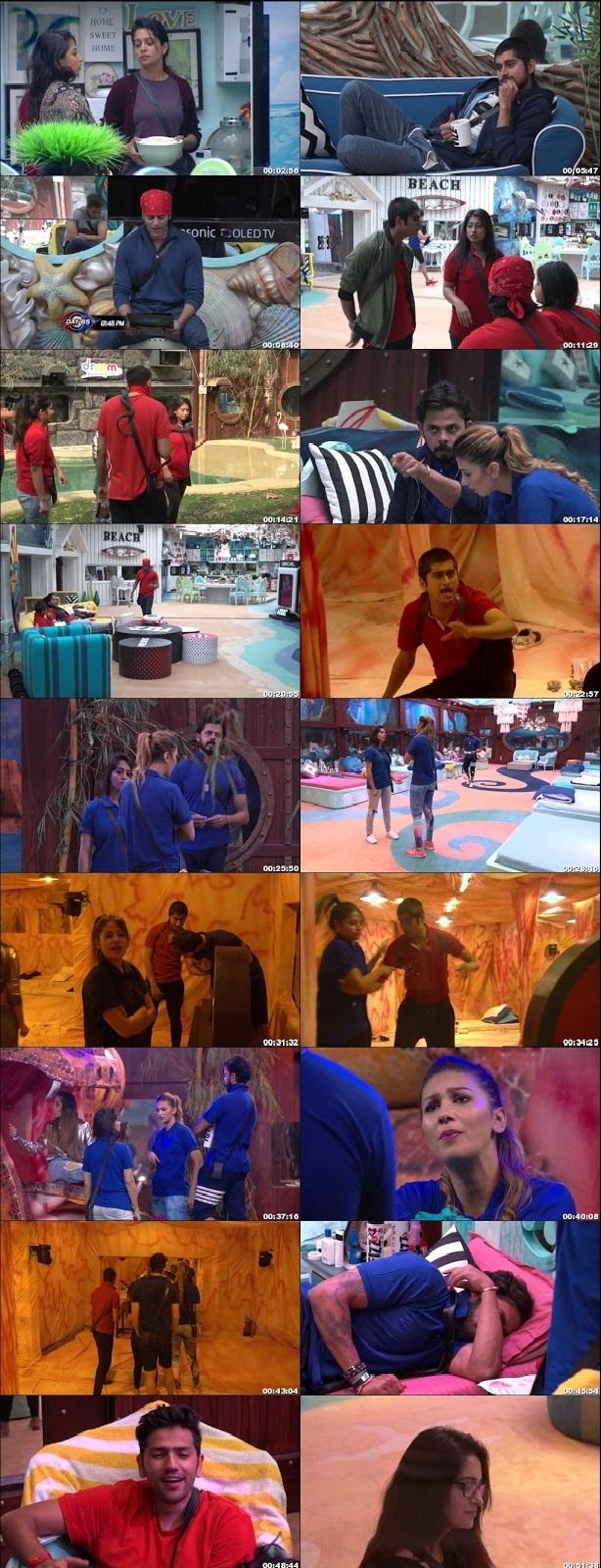 Screenshots Of Hindi Show Bigg Boss 12 20th November 2018 Episode 65 300MB 480P HD