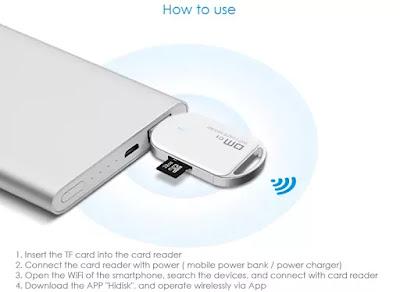 C1 WFD011 - Um Leitor de Cartões Wireless