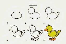 Cara menggambar agar disukai anak-anak