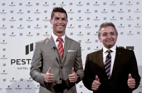 Cristiano Ronaldo presenta su hotel