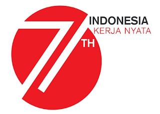 Logo HUT Kemerdekaan RI ke 71