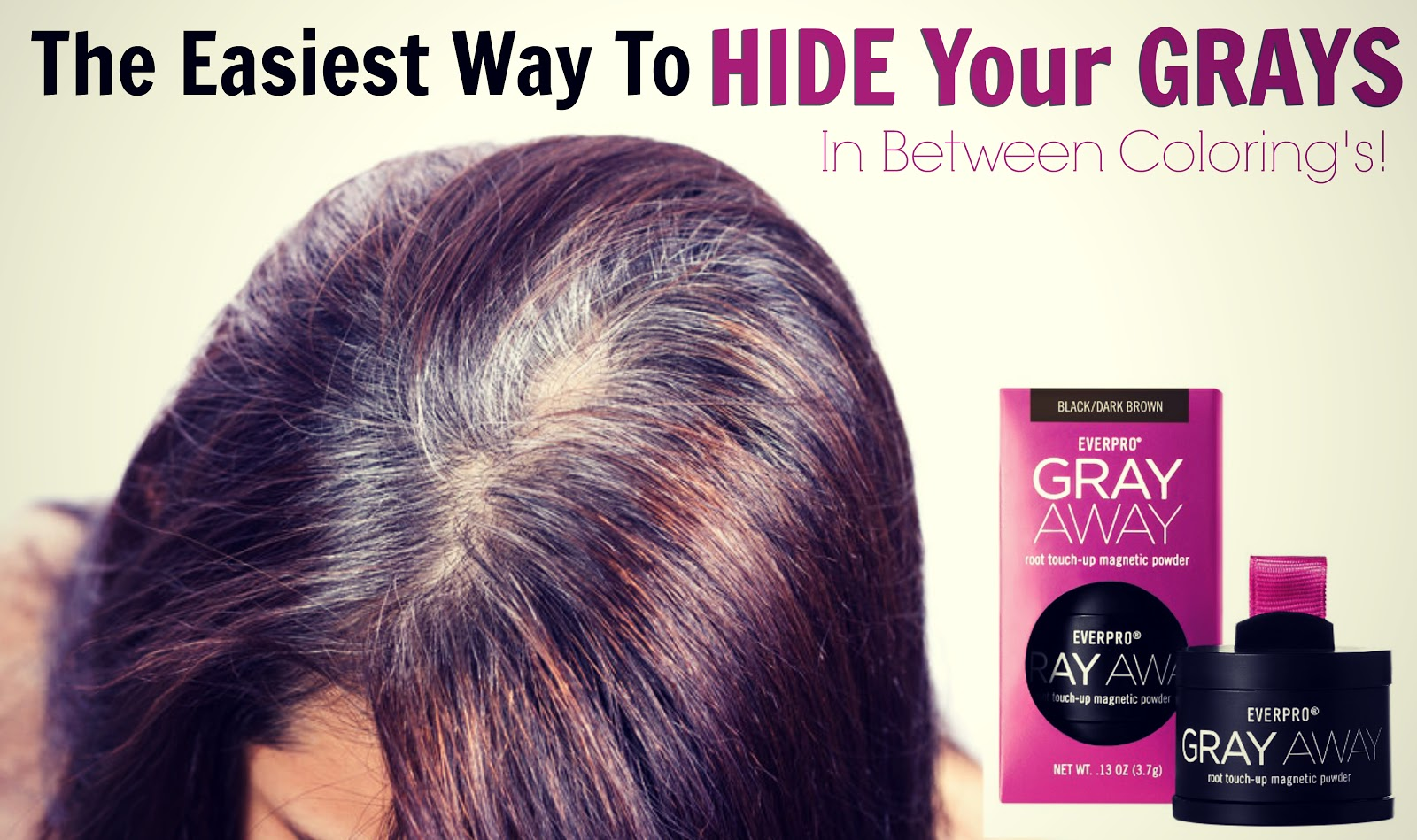 The Easiest Way To Hide Your Grays In Between Coloring\'s ...
