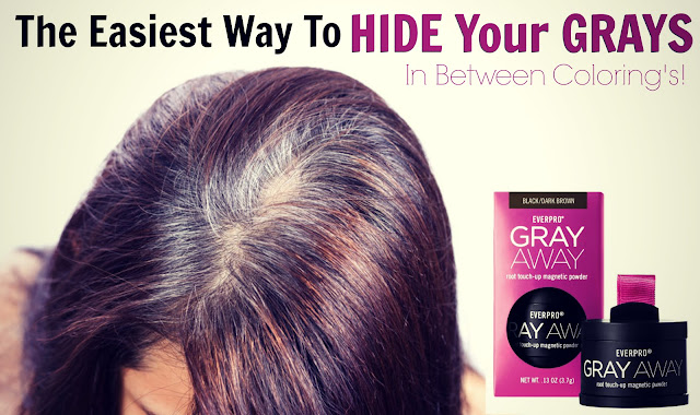 The Easiest Way To Hide Your Grays In Between Coloring's by barbie's beauty bits and everpro gray away