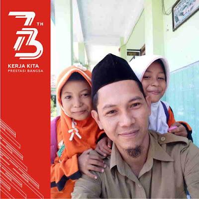 Bingkai foto profil facebook 73 Tahun Indonesia Merdeka