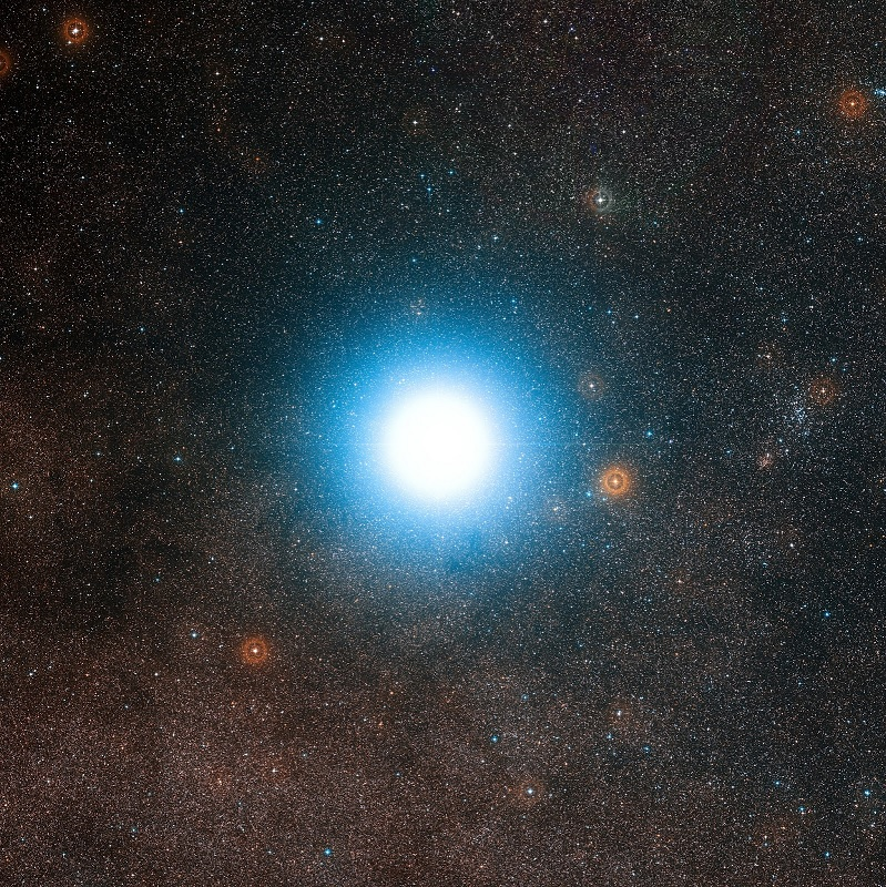Pictures of Stars - Alpha Centauri Proxima Centauri System - nearest star to Earth Sun - closest star to Earth Sun