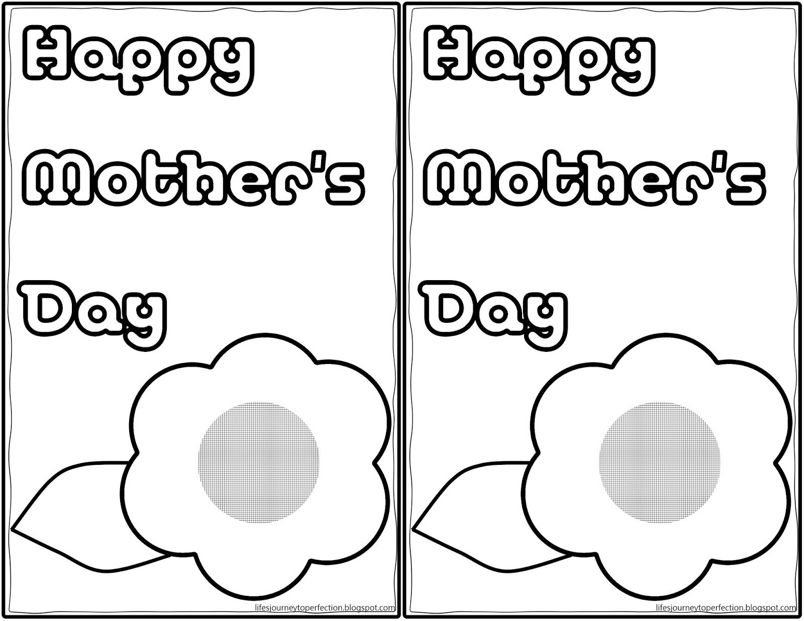 life u0027s journey to perfection some more mother u0027s day printables