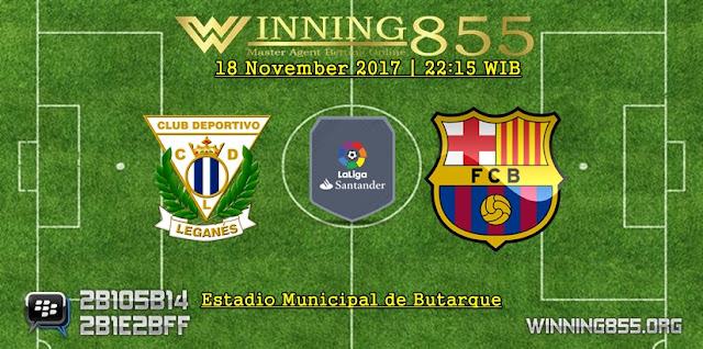 Prediksi Akurat Leganes vs Barcelona