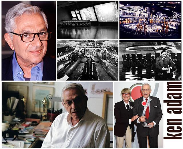 Sir Ken Adam, que trabalhou em sete filmes de James Bond, morre aos 95 anos