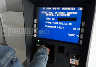 Daftar Internet Banking BRI