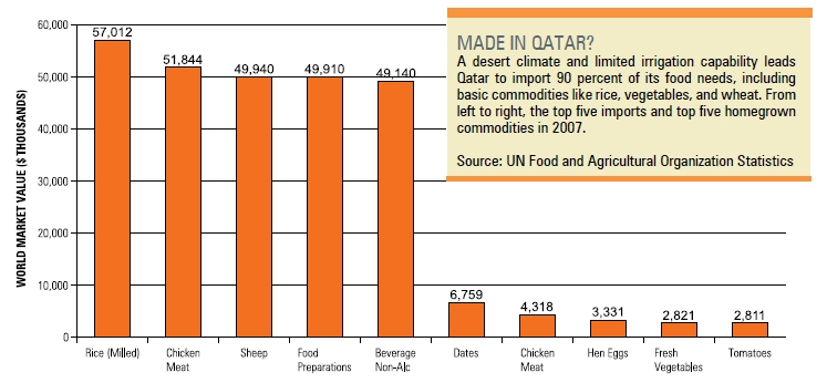 Food and Water Security in Qatar: Part 2 – Water Resources