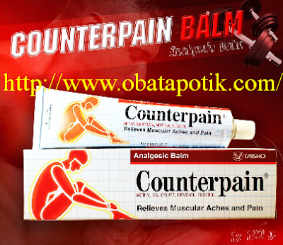 Manfaat Dan Fungsi, Efek Samping , Dosis Harga Counterpain di Apotik Obat Nyeri Otot dan  sendi