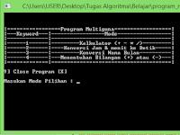 [Dev C++] Download Script C++ Program Multiguna (Penjumlahan, Pengurangan, Pambagian, Perkalian) Gratis