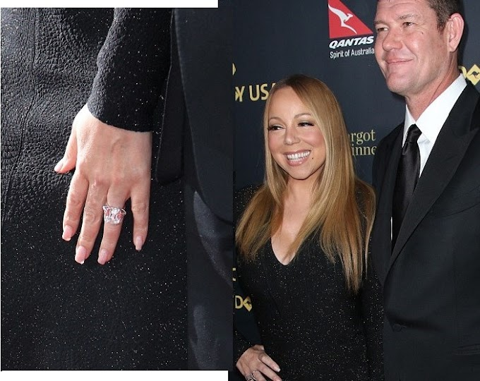 Mariah Carey sells her $13.2m engagement ring from ex-fiancé James Packer for $2.78m